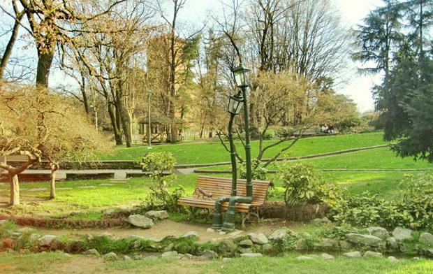 Roccioso parco в Турине