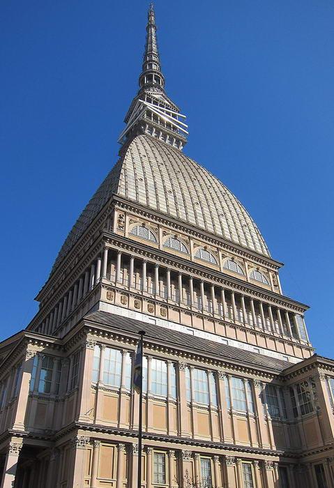 Символ башня города Турина Моле Антонеллиана