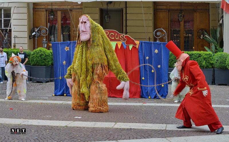 Циркус Мутабор в Италии Турине