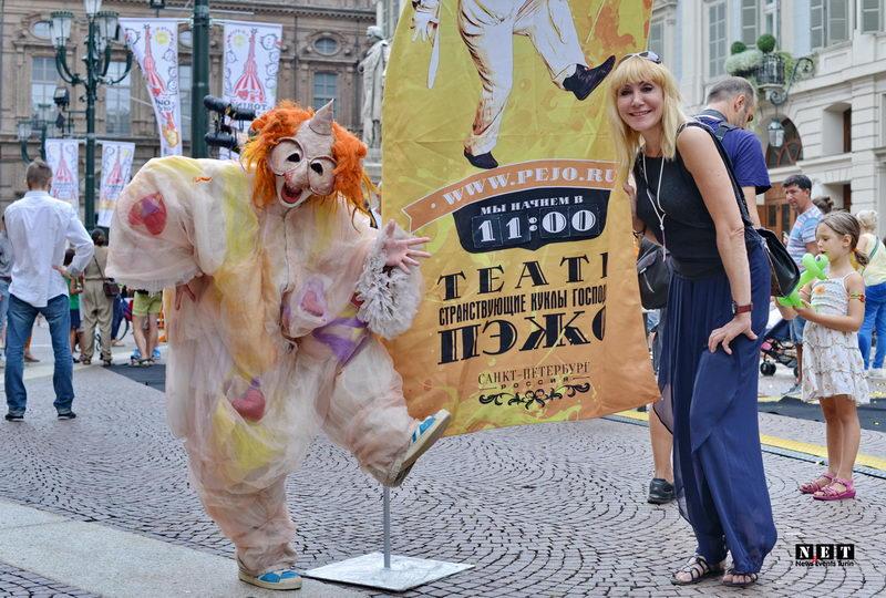 Русский детский фестиваль в Турине, театр из Санкт Петербурга. Мутабор в Италии Турине