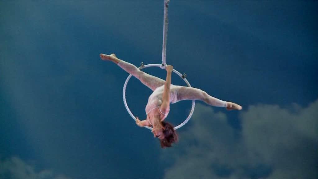 Воздушная акробатика в Турине италия