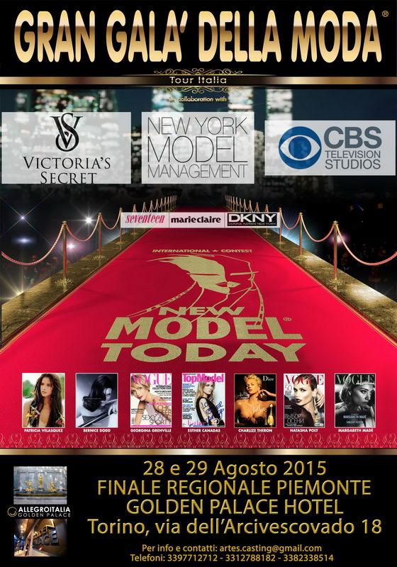 Victoria's Secret тур по Италии кастинг в Турине