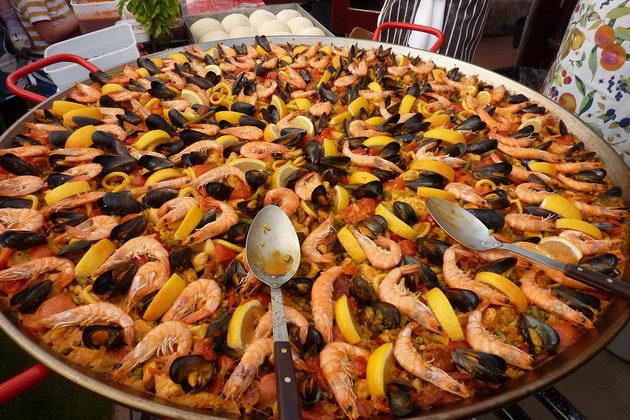 Испанская кухня в Турине ресторан Паэлья Этнические рестораны Турина
