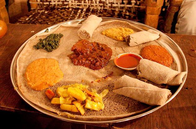 Эритрейская кухня ресторан турине