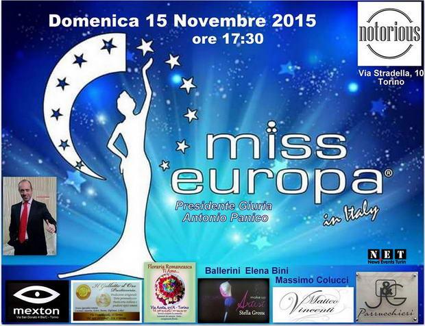 NET Miss Europe Torino