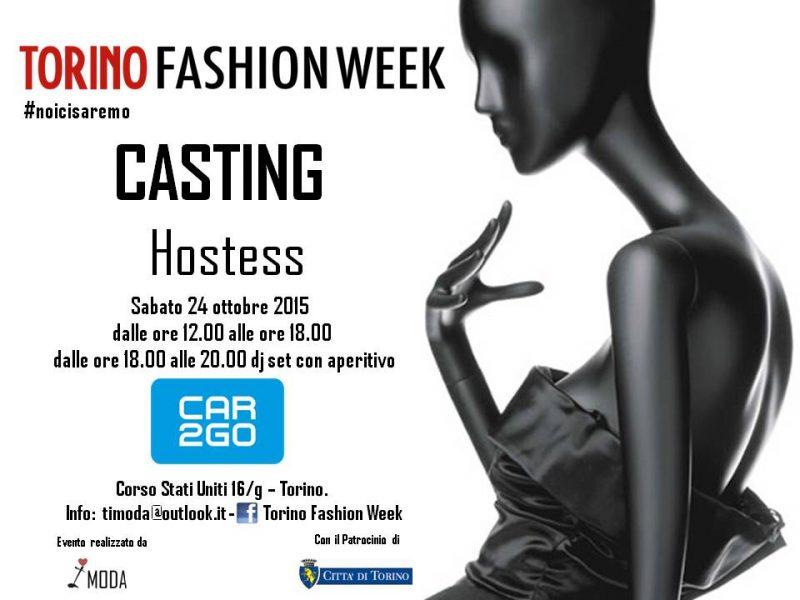 Torino Fashion Week casting