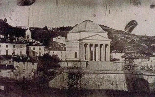 История первой фотографии Турина античность