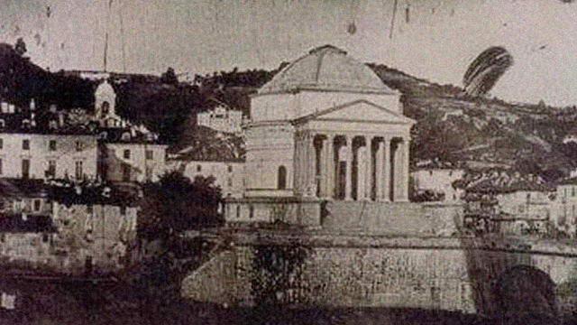 История первой фотографии Турина
