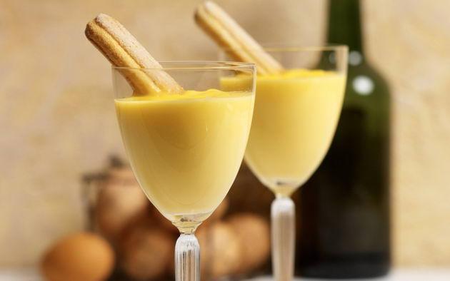 Lo Zabaione – сладкий крем из яичных желтков Турин покушать
