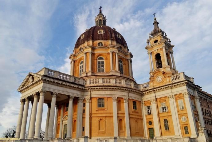 Церковь Суперга одна из достопримечательностей Турина