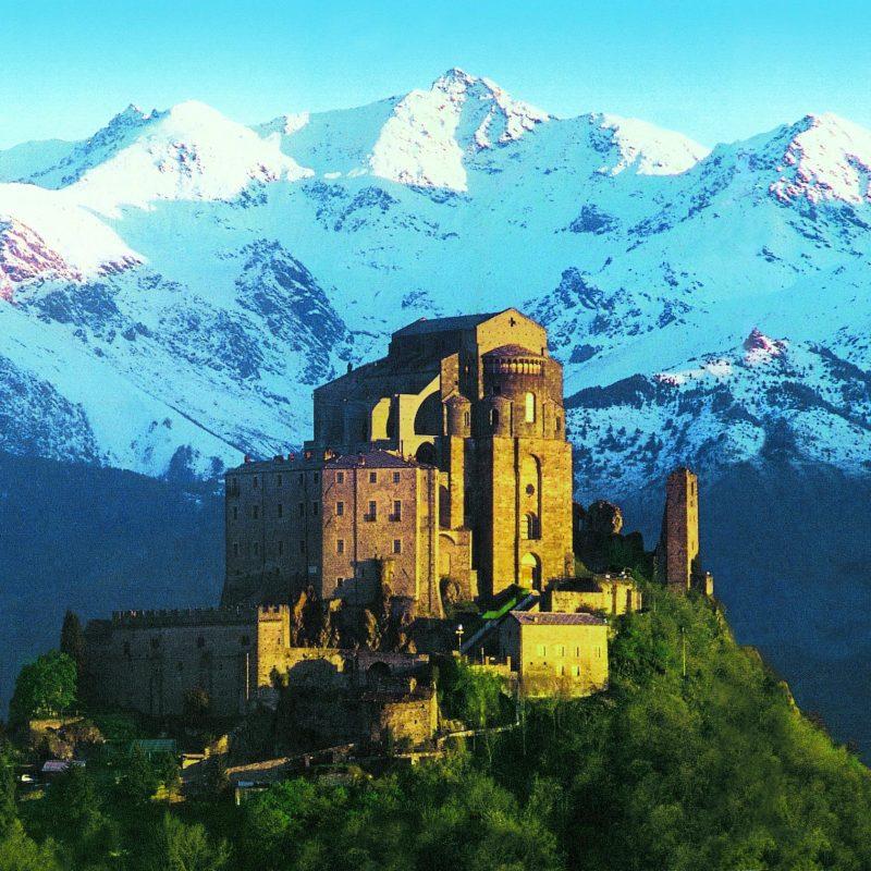 Sacra San Michele монастырь в Турине достопримечательности Турин отзывы местного жителя