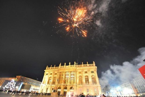 Празднование и встреча нового года в Турине