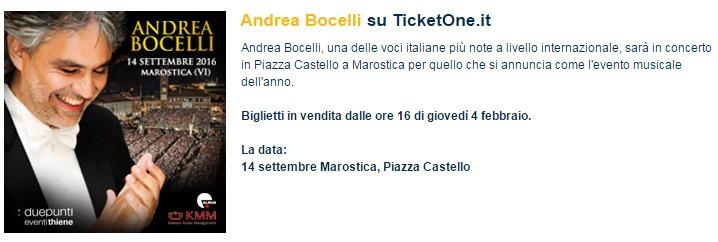 Andrea Bocelli contsert piemonte