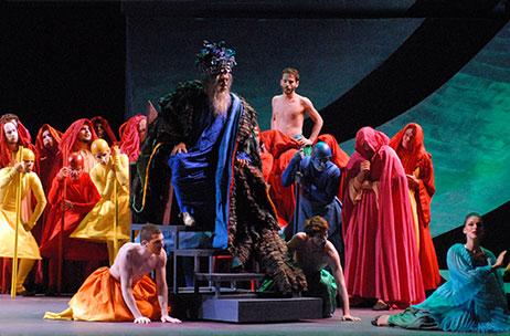 Итальянский театр женщина змея