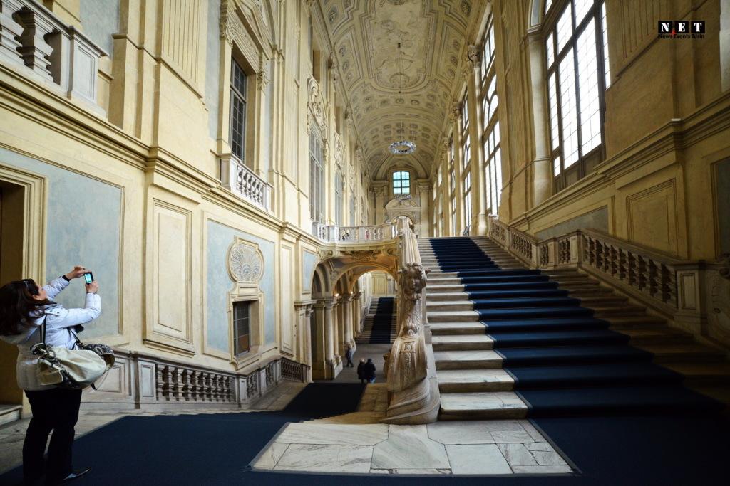 Достопримечательности Турина на фото дворец Мадама