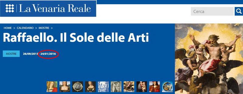 Рафаэль выставка в Турине