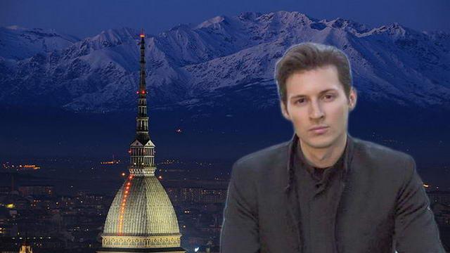 Павел Дуров создавший соц. сеть жил в Турине