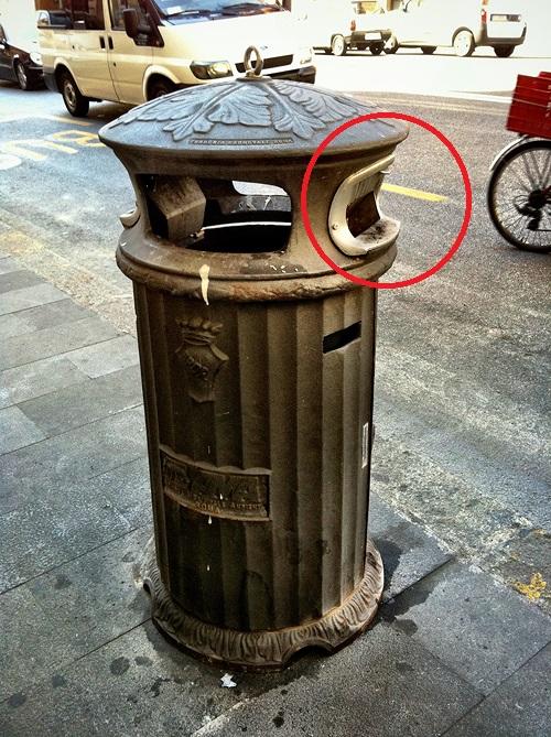 Курение в Италии Турине окурки на улице