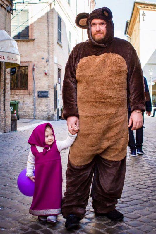 Италия Маша и медведь (неофициальное)