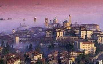 Панорама холма в Турине фото
