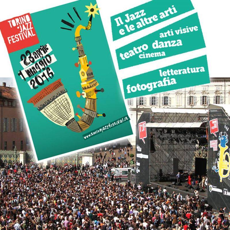 Jazz Festival в центре Турина