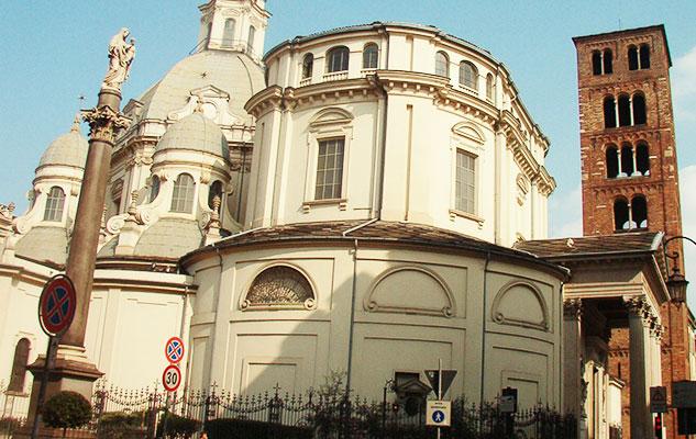 Важные церкви Турина