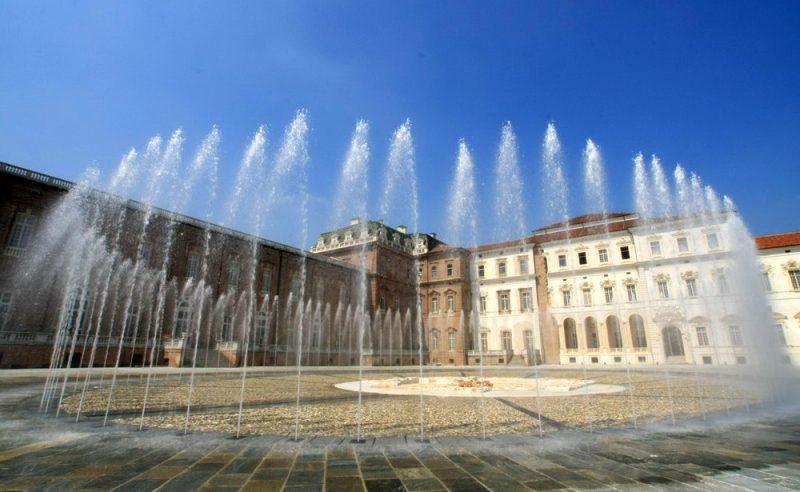 Королевские резиденции в Турин замок Венария Реале