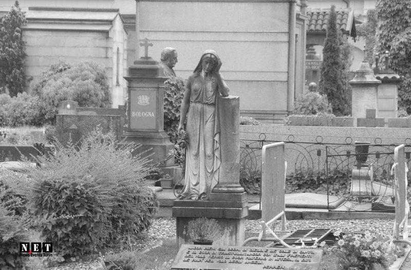 Фотографии кладбища Турина весной 2016