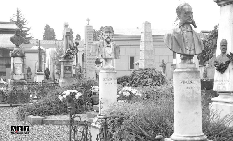 Кладбища города Турин Италия