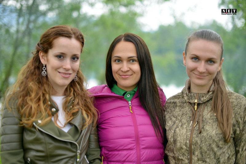 Русско украинские красавицы Италии
