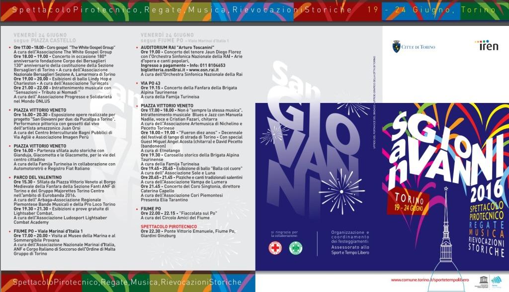 День города в Турине программа