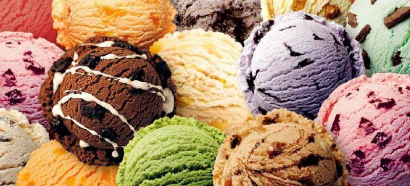 Итальянское мороженое Италия
