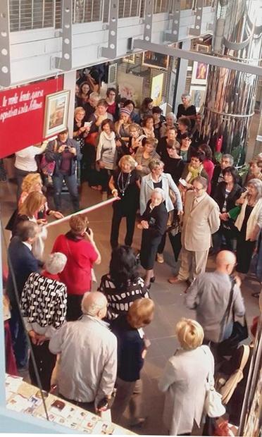 Женская выставка в Италии Бра