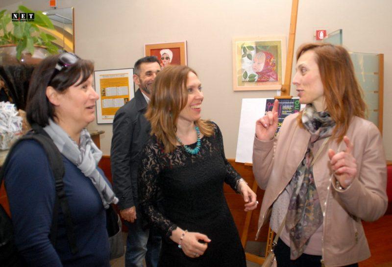 Выставка Адрианы Черней в турине