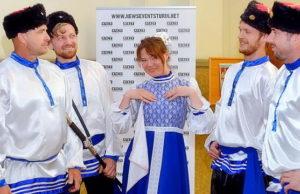 Русские староверы в Италии ассоциация Радуга с концертом в Турине.