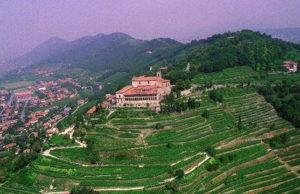 Север Италии Замок Куистини Ломбардия