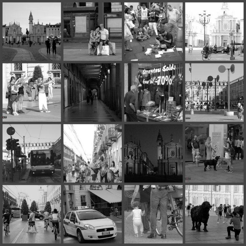 Город Турин уличные фото