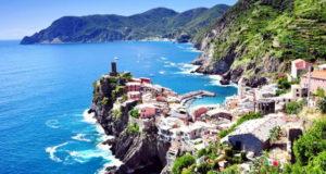 На море из Пьемонта в Лигурию - Италия Турин Пьемонт