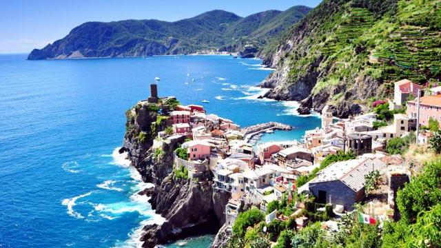 На море из Пьемонте в Лигурию Италия