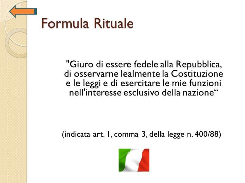 Клятва получения итальянского гражданства