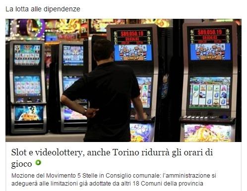 Мэр Турина против азартных игр