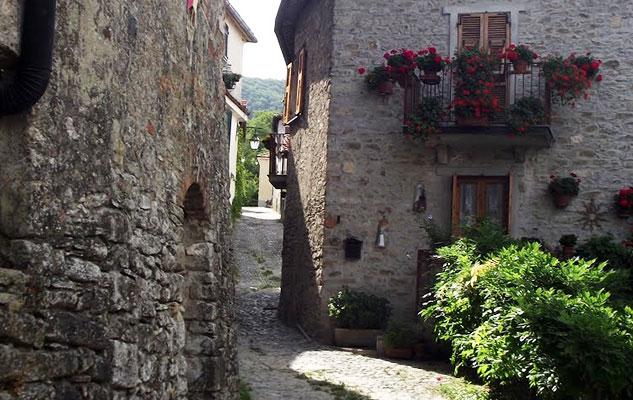 Старинная деревенька в Пьемонте