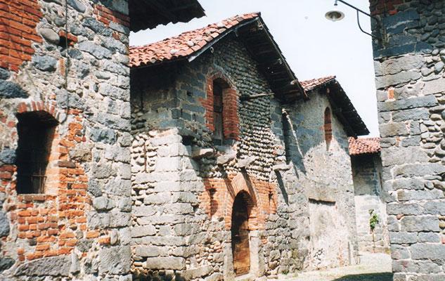 Города деревушки пьемона Италия