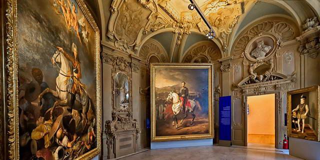 Савойская Галерея в Турине является одной из самых важных публичных галерей в Италии