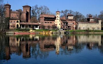 Что посмотреть в турине средневековая крепость