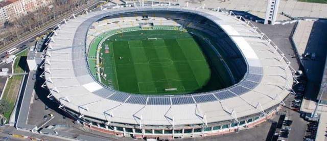 Олимпийский Стадион в городе Турин