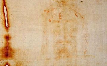 Туринская плащаница отпечаток на ткани Турин