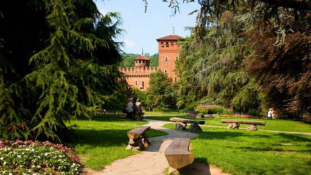 Парк Валентино в Турине – зеленое сердце Турина