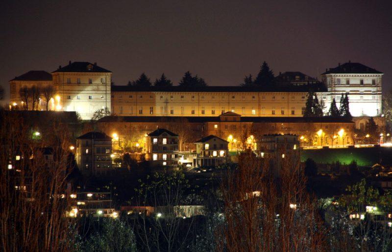 Настоящий замок Монкальери Castelo di Moncalieri