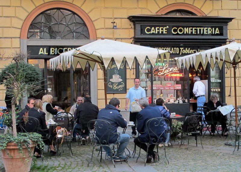 Бичерино Бицерин кафе в Турине